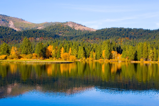 The Millpond in Fall