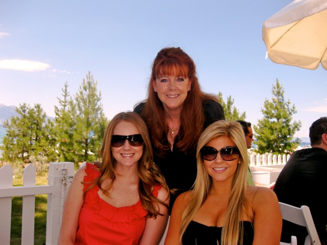 Yours Truly with daughters Lindsay and Mallory