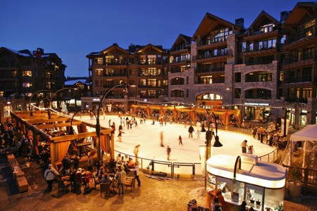 Village at Northstar Skating Rink
