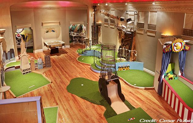 Artisanal golf
