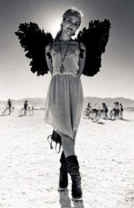 burning man girl